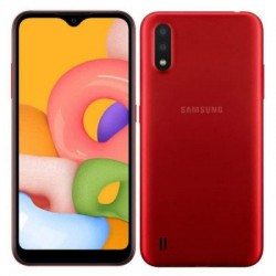 Smartphone Samsung A01 Rouge